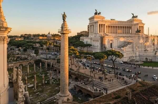 Arquitetura romana: Coluna de Trajano