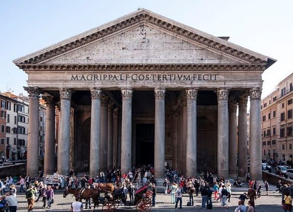 Arquitetura romana: Templo romano