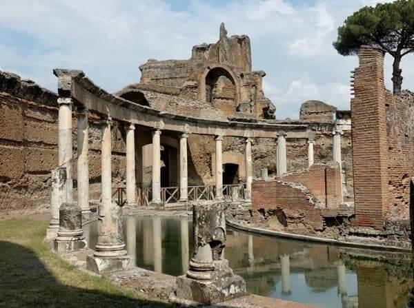 Arquitetura romana: Villa Adriana