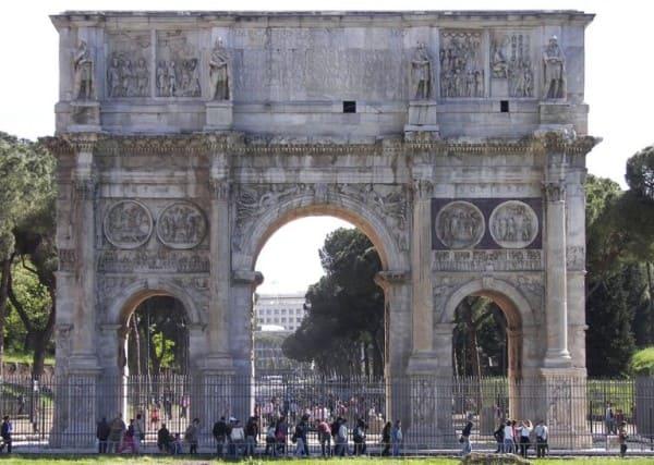Estilos de arquitetura: Arco de Constantino