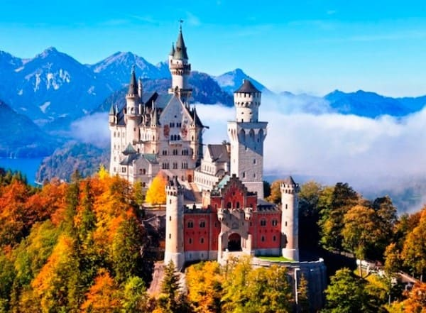 Estilos de arquitetura: Castelo de Neuschwanstein