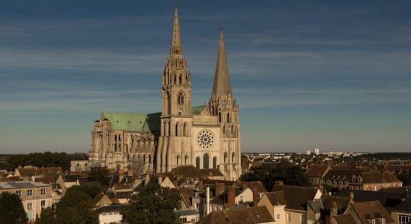 Estilos de arquitetura: Catedral de Chartres