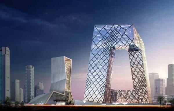 Estilos de arquitetura: Prédio sede da CCTV – Rem Koolhaas