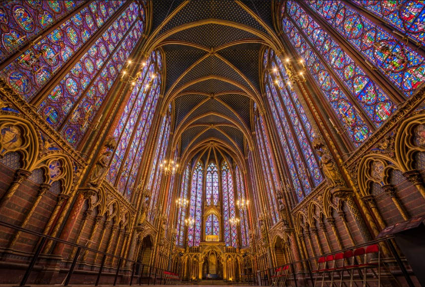 arquitetura-gotica-vitrais-saint-chapelle