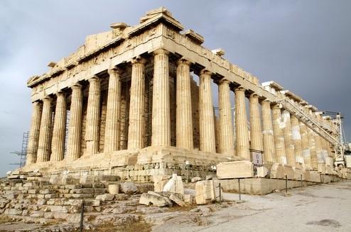 arquitetura-grega-parthenon