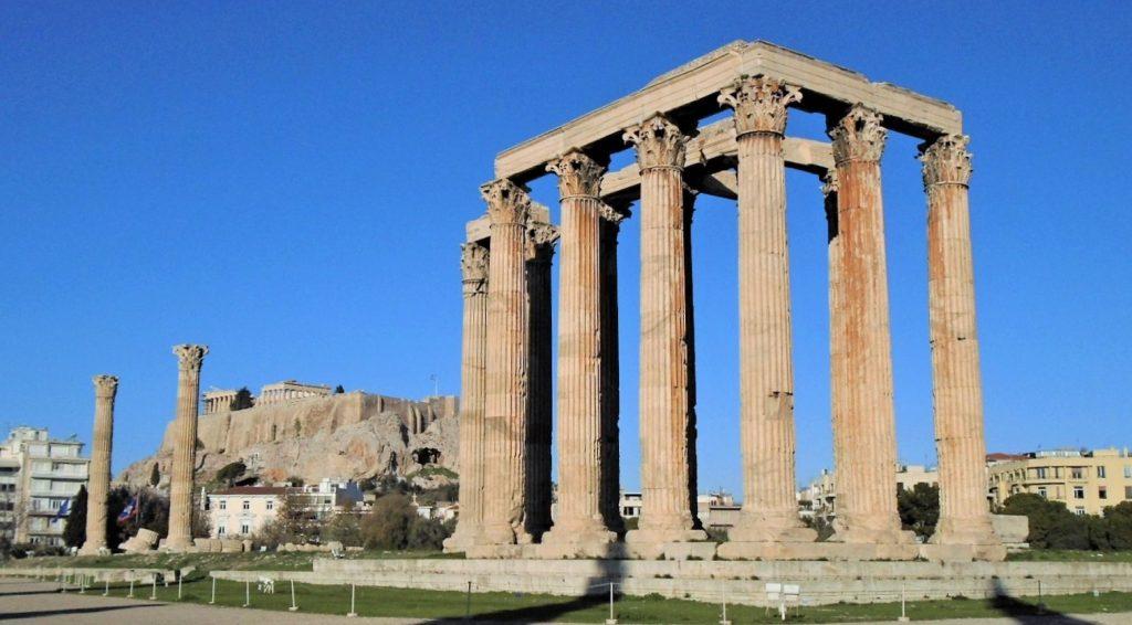 arquitetura-grega-templo-de-zeus