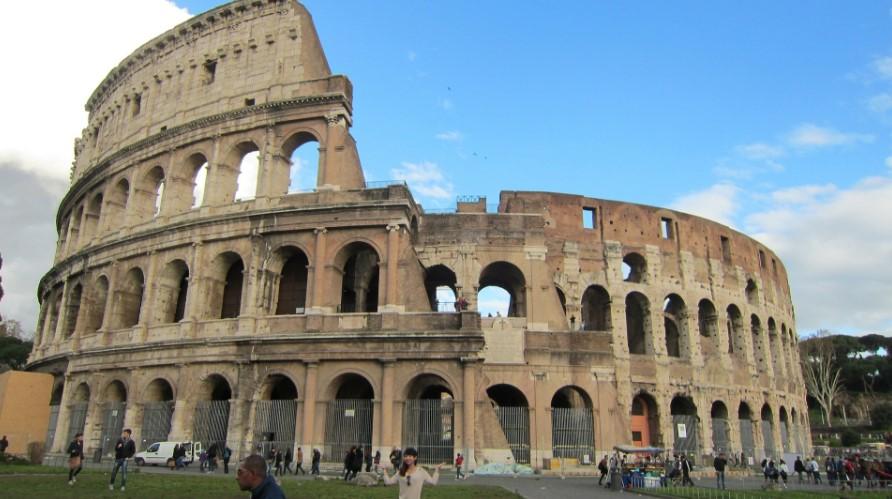 arquitetura-romana-coliseum