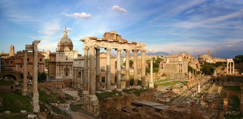 arquitetura-romana-forum-romano