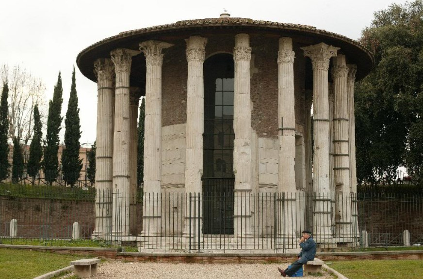 arquitetura-romana-templo-de-vesta