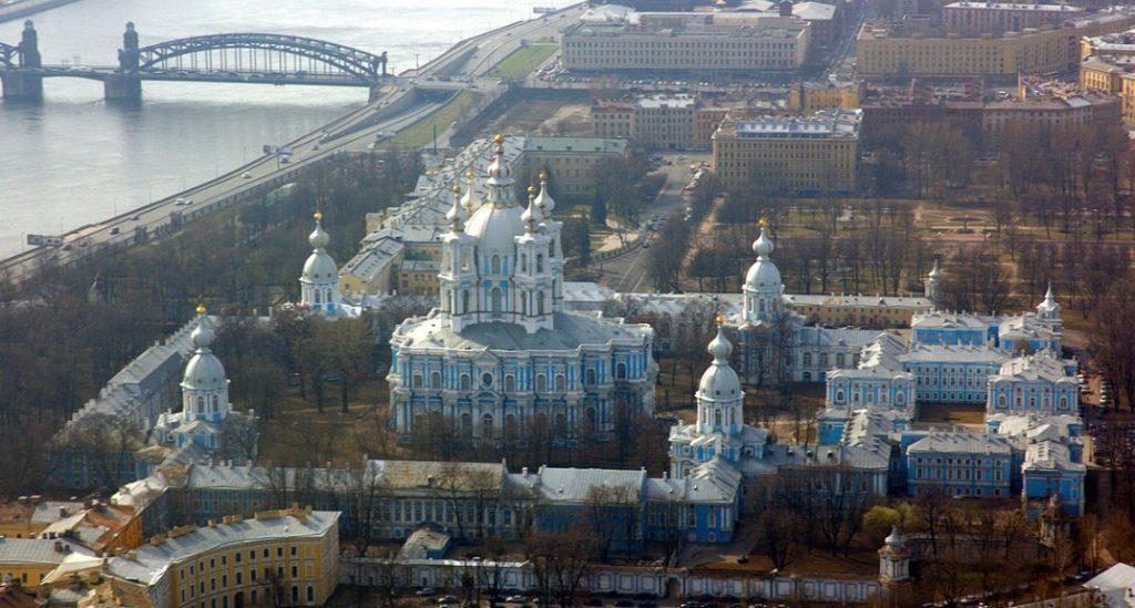arquitetura-russa-convento-smolny