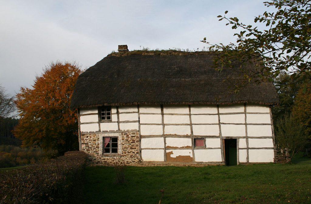 Arquitetura vernacular: Casa em clima frio