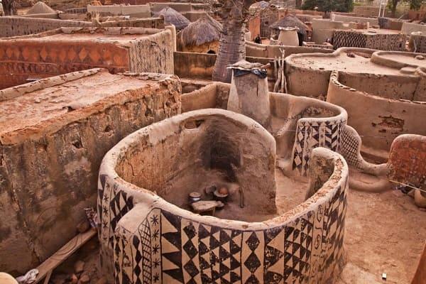 Arquitetura vernacular: Construção em clima quente e seco