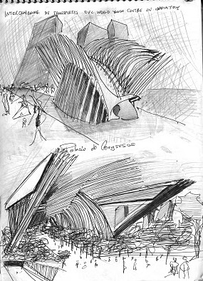 croquis-de-arquitetos-famosos-santiago-calatrava-estacao-world-trade-center