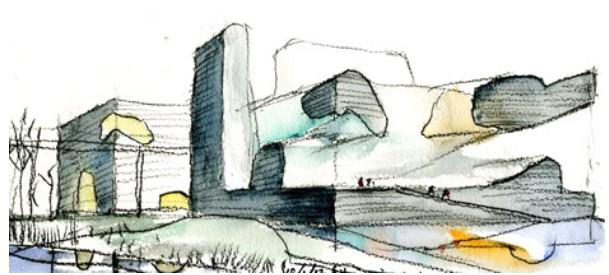 croquis-de-arquitetos-famosos-steven-holl-museu-do-planejamento-tianjin