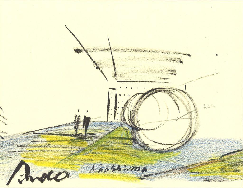croquis-de-arquitetos-famosos-tadao-ando-naoshima