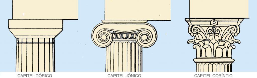estilos-de-arquitetura-dorico-jonico-corintio