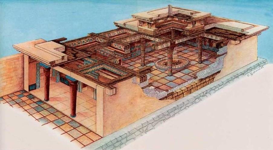 estilos-de-arquitetura-megaron