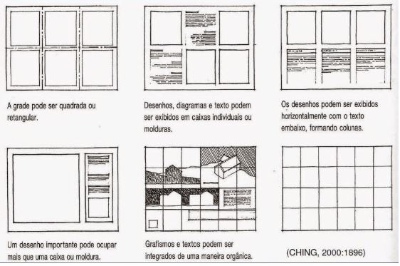 prancha-de-arquitetura-grade-de-diagramacao