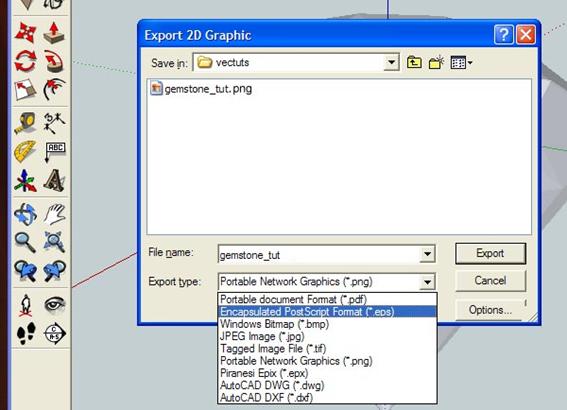 Importar-dwg-para-sketchup-Exportando-documento-2d-formato-pdf