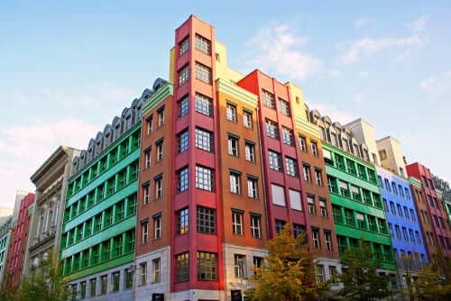 Arquitetura Contemporânea: Obra de Aldo Rossi nos anos 70 – Residential Building Kochstrasse