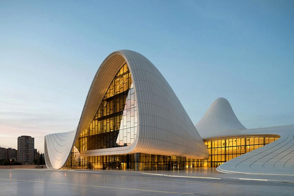 arquitetura-contemporanea-Heydar-Aliyev-Center