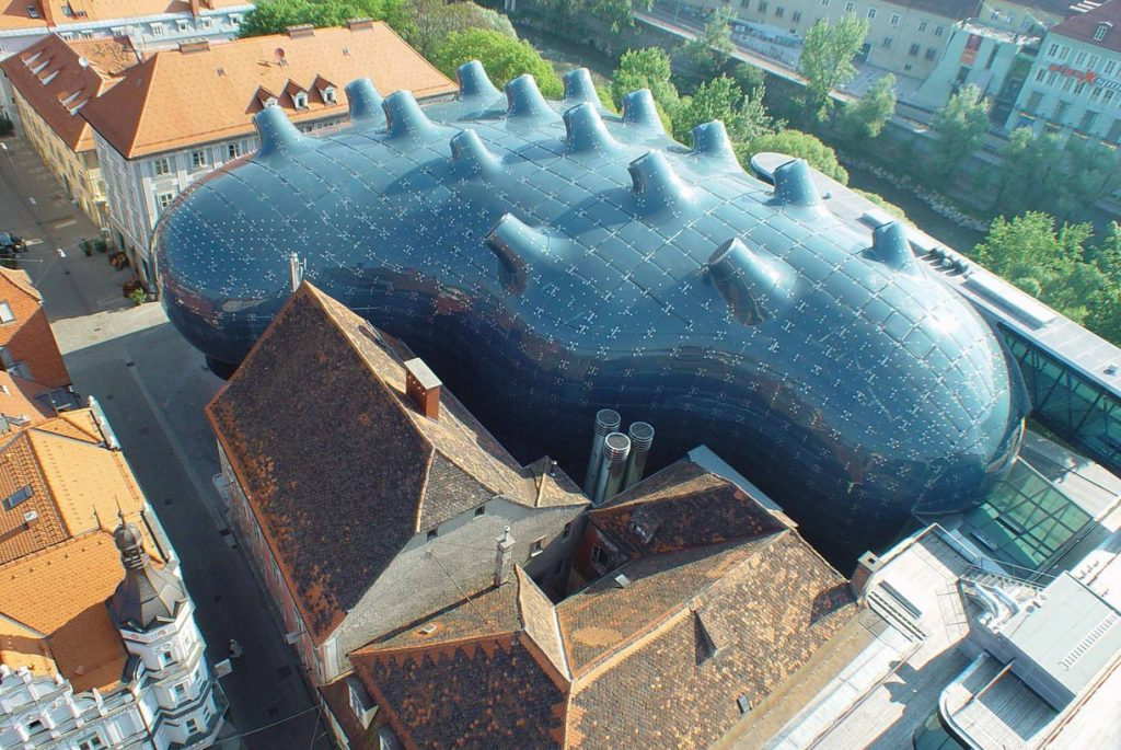 arquitetura-contemporanea-Kunsthaus-Graz