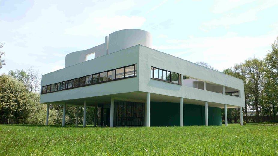 arquitetura-moderna-Villa-Savoye-Le-Corbusier