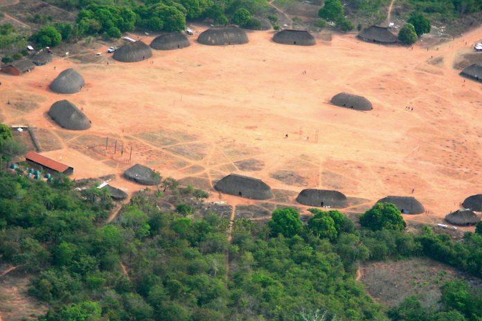 arquitetura-no-brasil-Aldeia-Indigena-no-Brasil