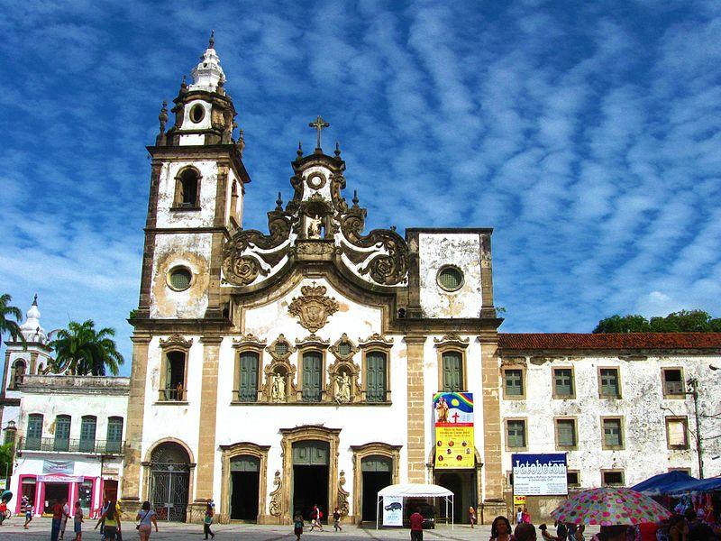 arquitetura-portuguesa-Igreja-da-Ordem-Terceira-de-Nossa-Senhora-do-Carmo-em-Recife