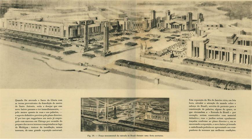 O que é planejamento urbano: Plano Agache