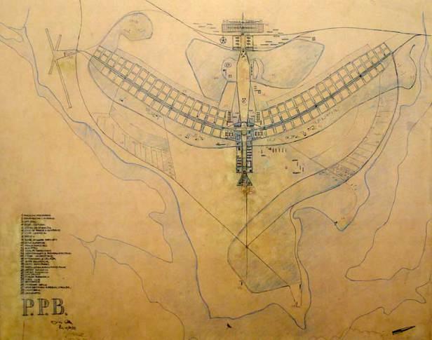 O que é planejamento urbano: Plano Piloto Brasília - Planta Baixa
