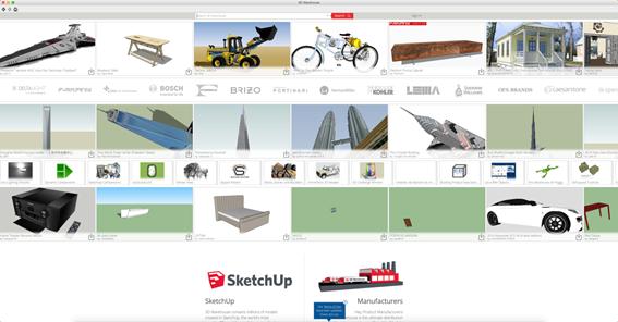texturas-sketchup-plataforma-3d-warehouse-na-internet