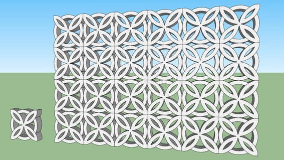 texturas-sketchup-textura-cobogo-no-sketchUp