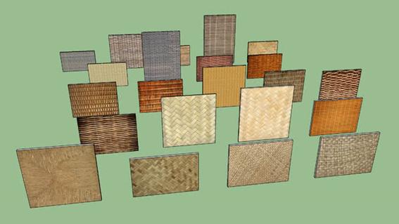texturas-sketchup-texturas-palha-vime