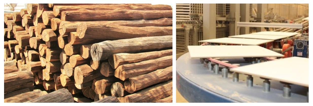 piso-de-madeira-ou-ceramica-Material-natural-Material-artificial