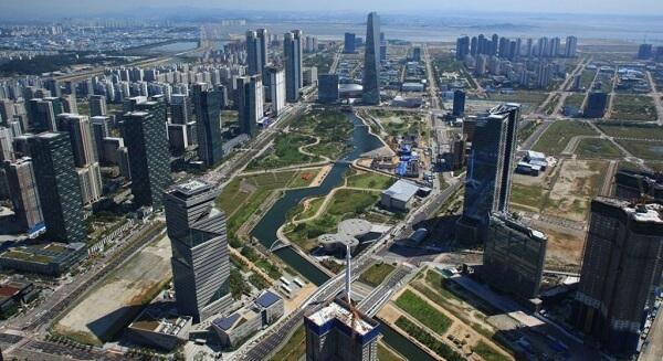Cidades inteligentes: Songdo (Coreia do Sul)