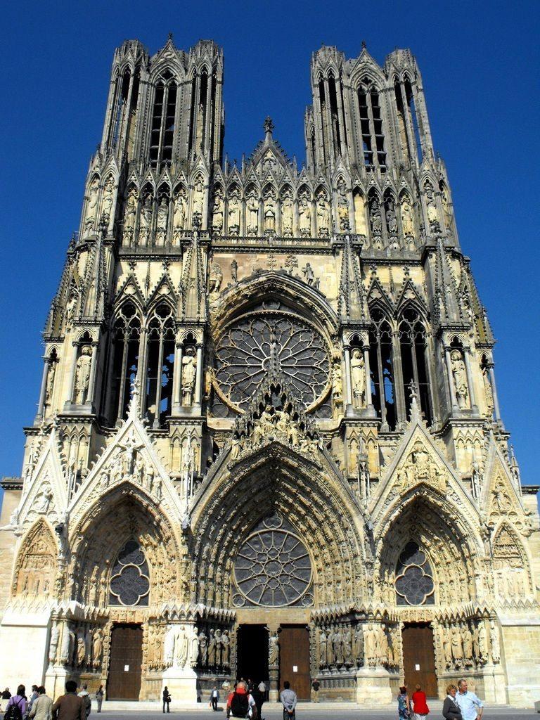 arquitetura-francesa-Catedral-de-Reims