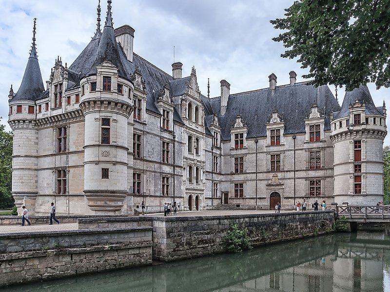 arquitetura-francesa-D'azay-Le-Rideau
