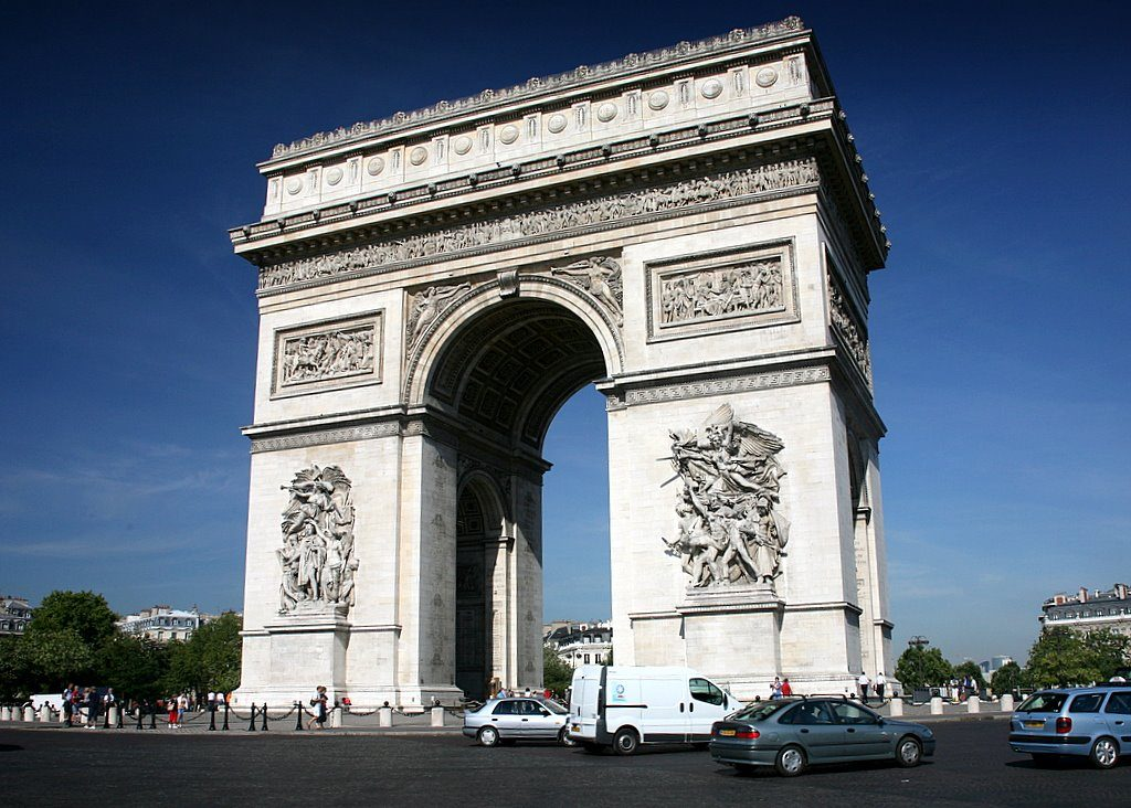 arquitetura-francesa-arco-do-triunfo