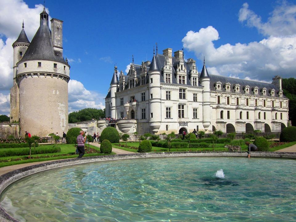 arquitetura-francesa-castelo-de-Chenonceau