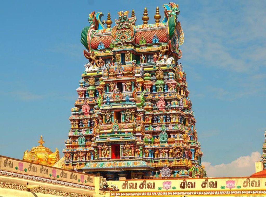 arquitetura-indiana-templo-Meenakshi-Amman-hindu