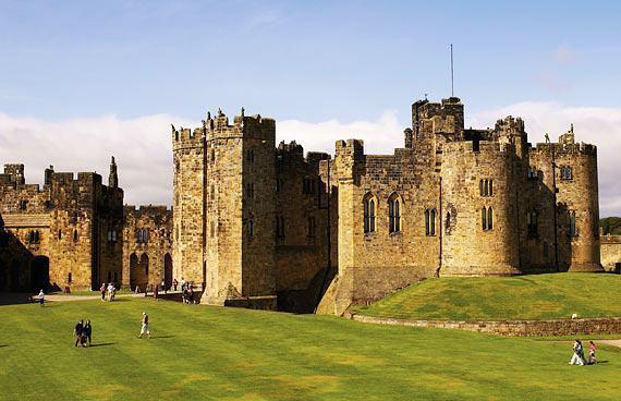 arquitetura-medieval-castelo-de-alnwick