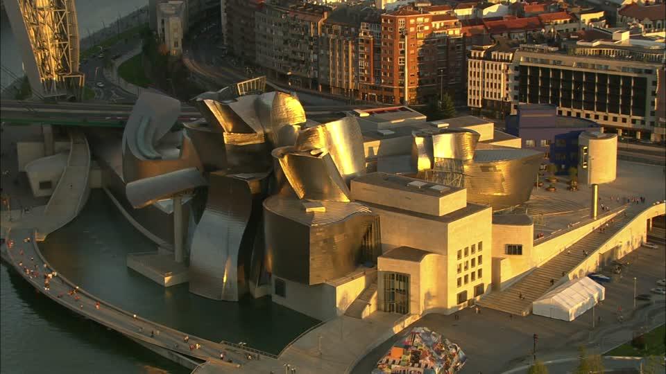museu-arquitetura-Museu-Guggenheim-vista-aerea