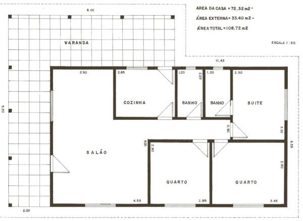 Anteprojeto de arquitetura: planta baixa