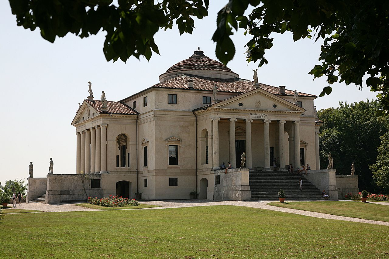 Arquitetura Italiana: Villa Capra