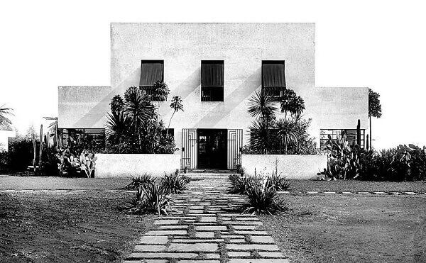 Casa Modernista: Fachada principal