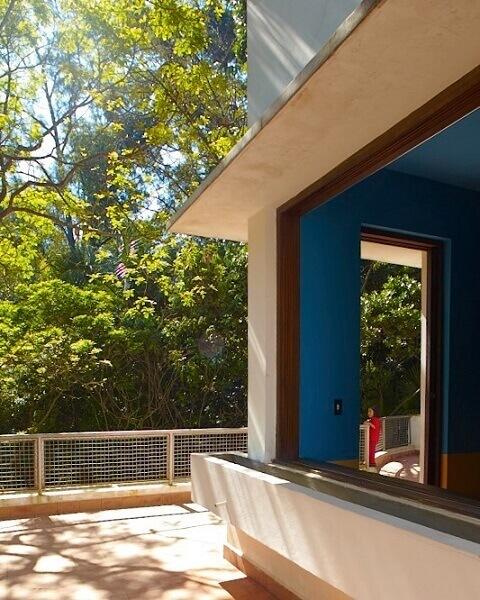 Casa Modernista: Janela