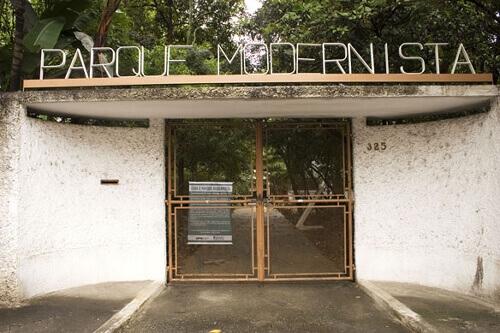 Casa Modernista: entrada para visitação pública