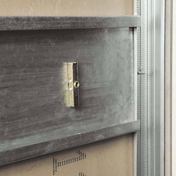 como fazer reforço em parede de drywall