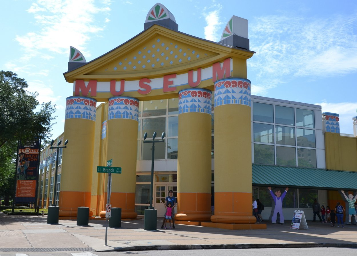 Robert Venturi: Children's Museum of Houston